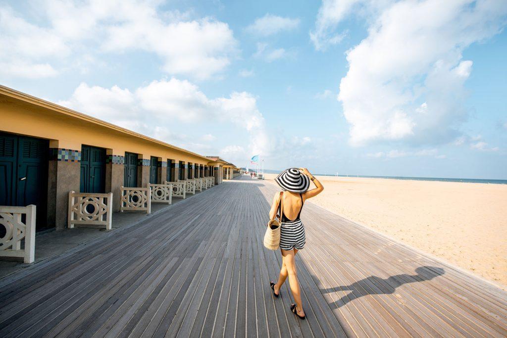 destination pour un week-end en France : Deauville