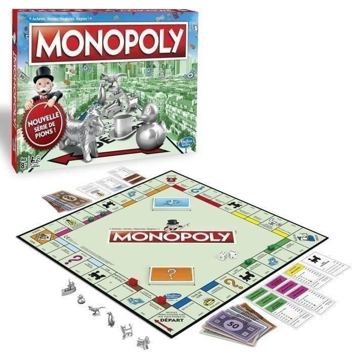 meilleurs jeux de sociétés monopoly