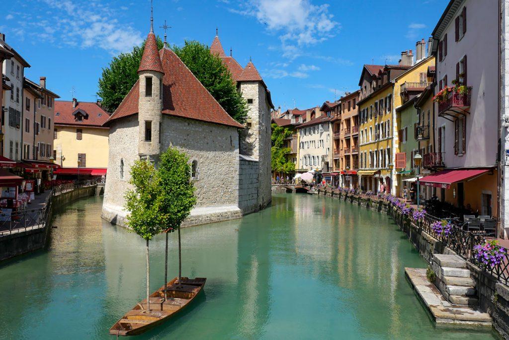 La vielle ville Annecy top destination